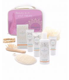 Namaste Skin Deluxe  Bath and Body Natural Spa Gift-Set (11-Piece, Lavender)