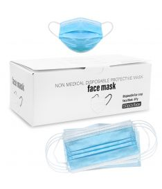 Live Germ Free 3 Layer Disposable Face Mask (Pack of 50)