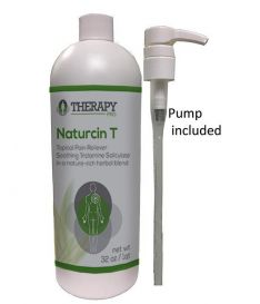 Naturcin T Topical Pain Reliever - Best Pain Relief Solution for Knee Joint Pain, Lower Back Pain, Arthritis, Sore Muscles, Neck Pain, Wrist, Sports Injuries - Odorless. (1 Quart)