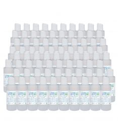 Live Germ Free Unfragrance Alcohol base Hand Sanitizer 4oz - 80 pack