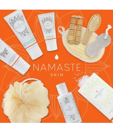 Namaste Skin Deluxe Bath and Body Natural Spa Gift-Set (11-Piece, Grapefruit)