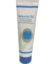 Naturcin-OC Pain Relieving Cream for Sore Muscles, Backaches, Joint Pain, and Arthritis Pain (4 oz Tube)