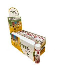 SPF 30  Pomegranate Lip Balm without OMC and OXY - Reef Safe 36 pack