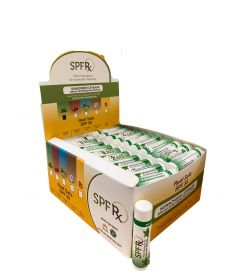 SPF 30 Spearmint Lip Balm without OMC and OXY - Reef Safe 100 pack
