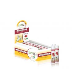 SPF 30 Mineral Lip Balm Pomegranate Flavor- 24 Pack